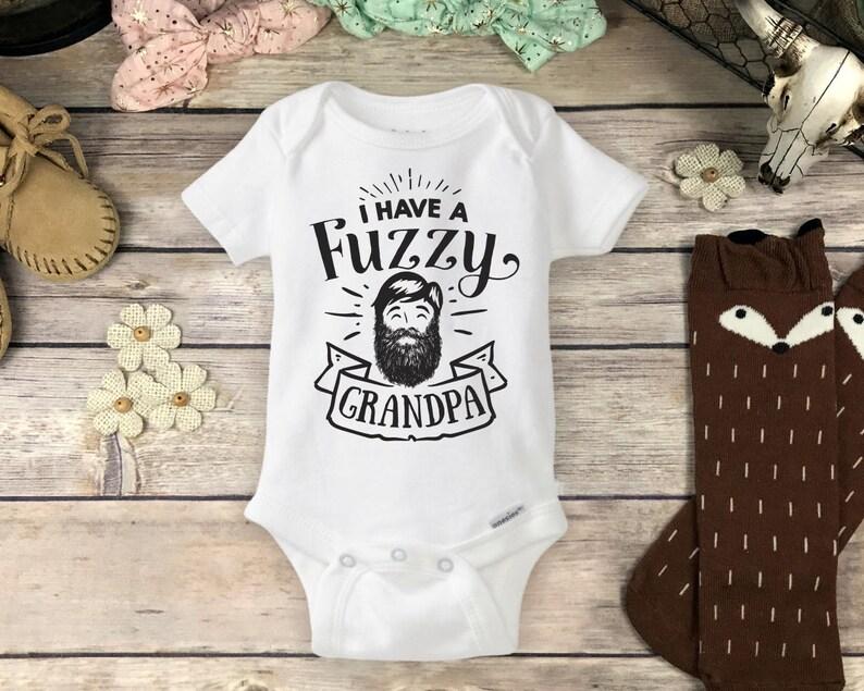 d80683ed1f1be Grandpa Beard Onesies® Brand or Carter's® Bodysuit Hipster   Etsy