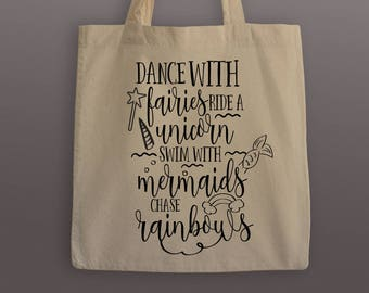 Dance with Fairies Tote Bag