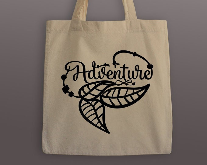 Adventure Cotton Tote Bag