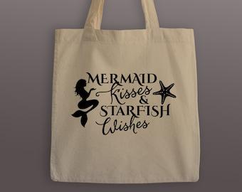 Mermaid Kisses Tote Bag