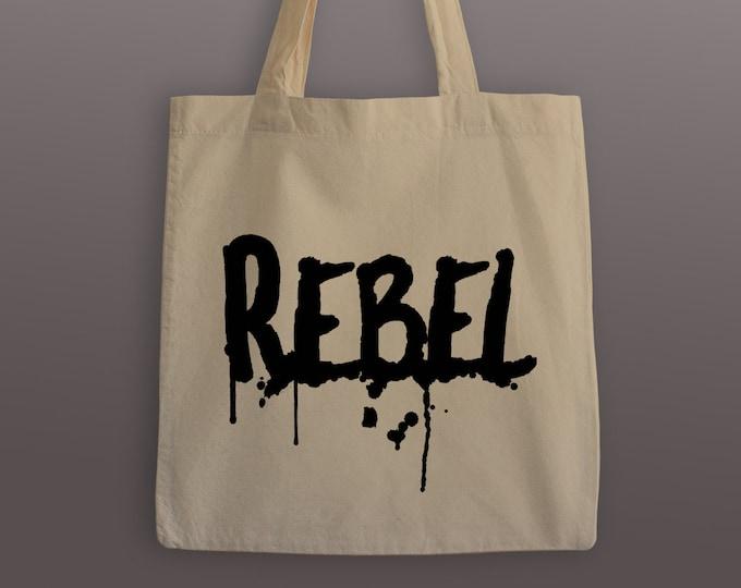 Rebel Cotton Tote Bag