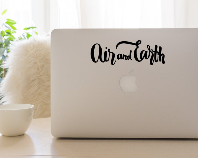 Air and Earth Vinyl Decal
