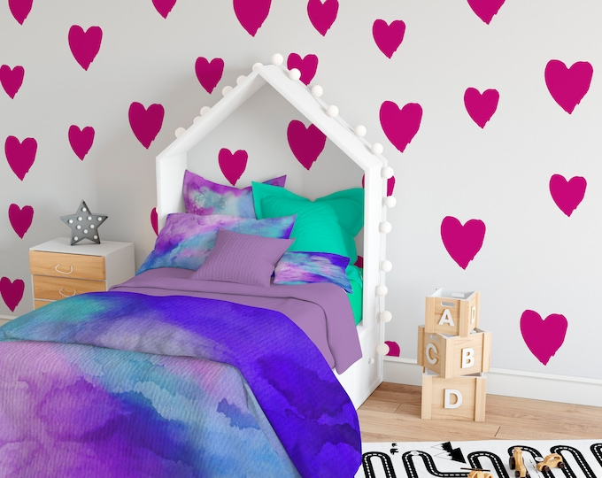 Heart Art Wall Decal