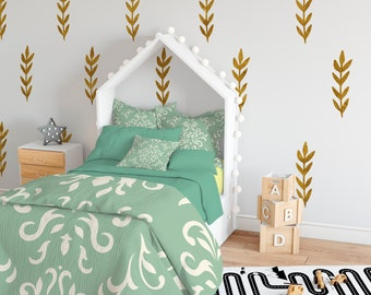 Leaf Vinyl Wall Decals