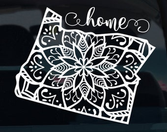 Oregon State Mandala Vinyl Decal