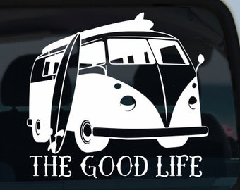 Van Vinyl Window Decal