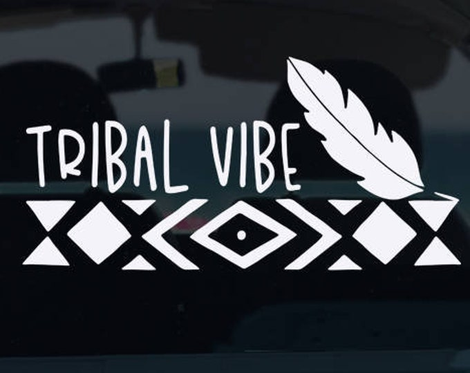 Tribal Vibe Decal