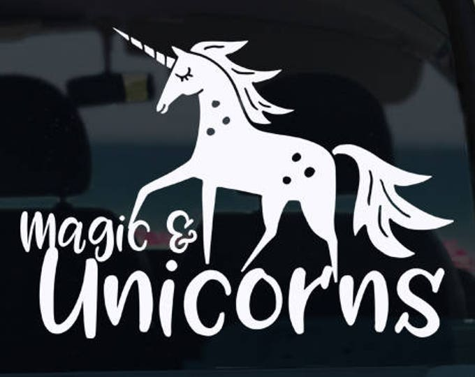 Magic and Unicorn Decal