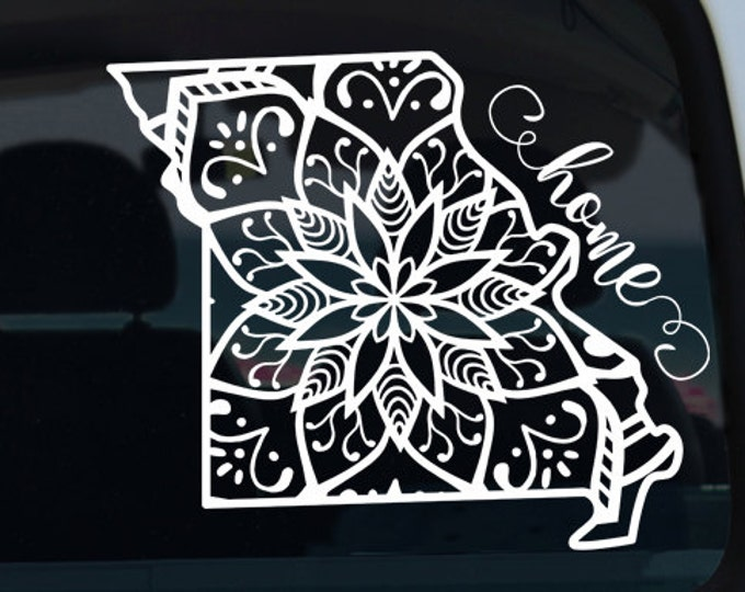 Missouri State Mandala Decal