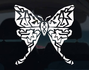 Geometric Butterfly Decal