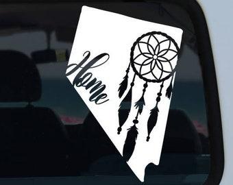Nevada Dream Catcher Decal