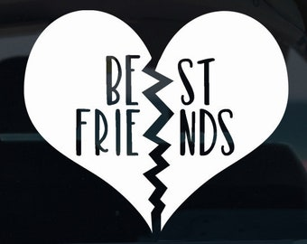 Best Friends Vinyl Decal