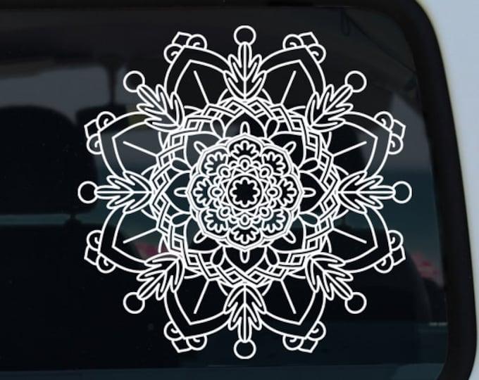 Flower Mandala Vinyl Decal