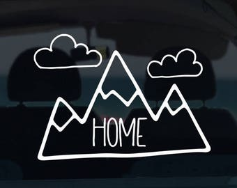 Mountain Home Decal
