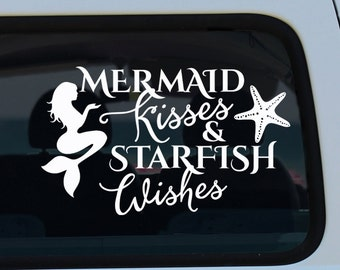 Mermaid Kisses Decal