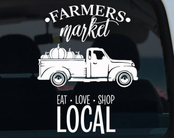 Farmers Market Decal