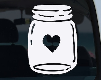 Mason Jar Decal