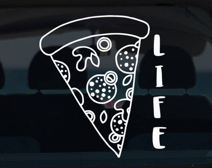 Pizza Life Decal