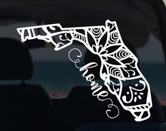 Florida State Mandala Decal