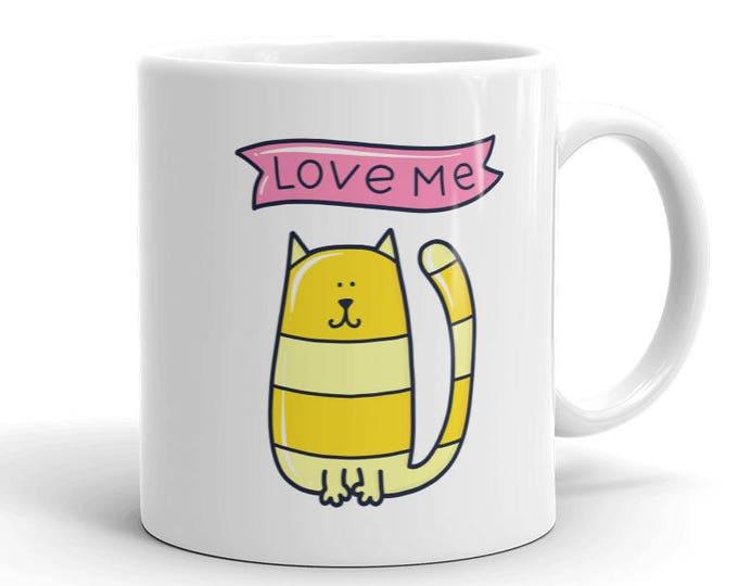 Love Me Cat Mug