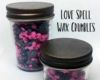 Love Spell Wax Crumbles - Love Spell Wax - Wax Crumbles - Soy Wax - Wax Melts - Wax Tarts - Candles - Wickless Candle - Home Fragrance - Wax