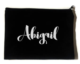 Custom Name Cosmetic Bag