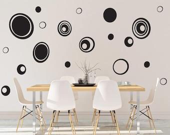 Pebble Vinyl Wall Decal