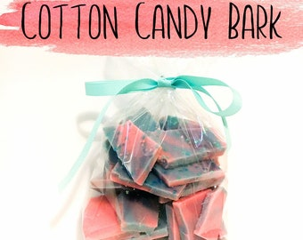Cotton Candy Wax Bark - Wax Brittle - Wax Bark - Cotton Candy - Wax Melts - Wax Tarts - Candle Melts - Candles - Soy Wax Melts - Soy Candles