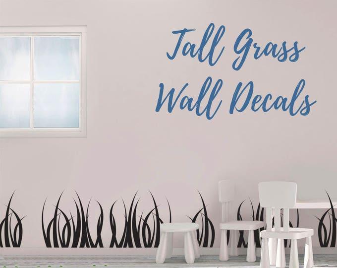 Tall Grass Vinyl Wall Decal