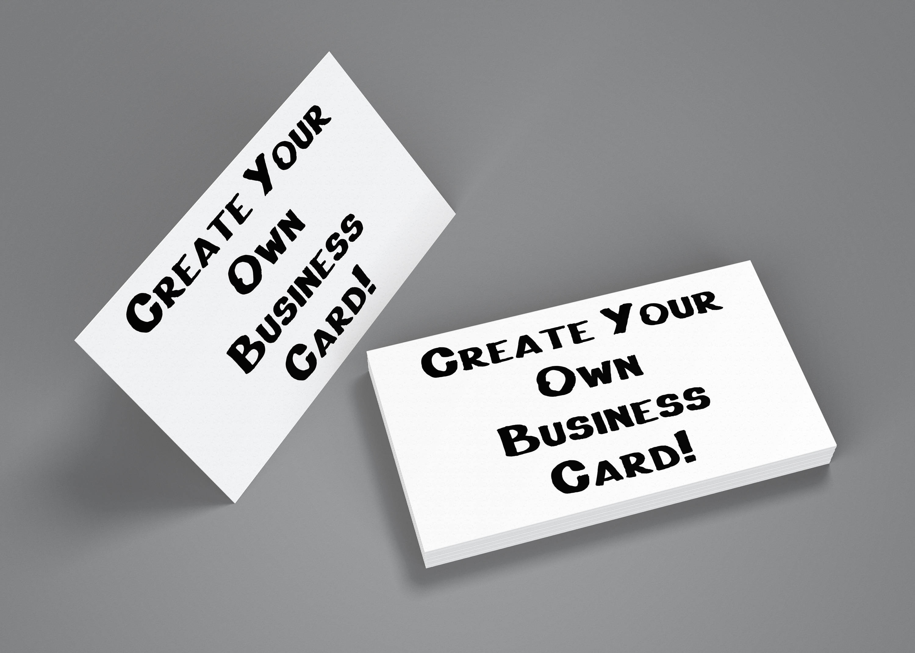 Create your own business cards colourmoves