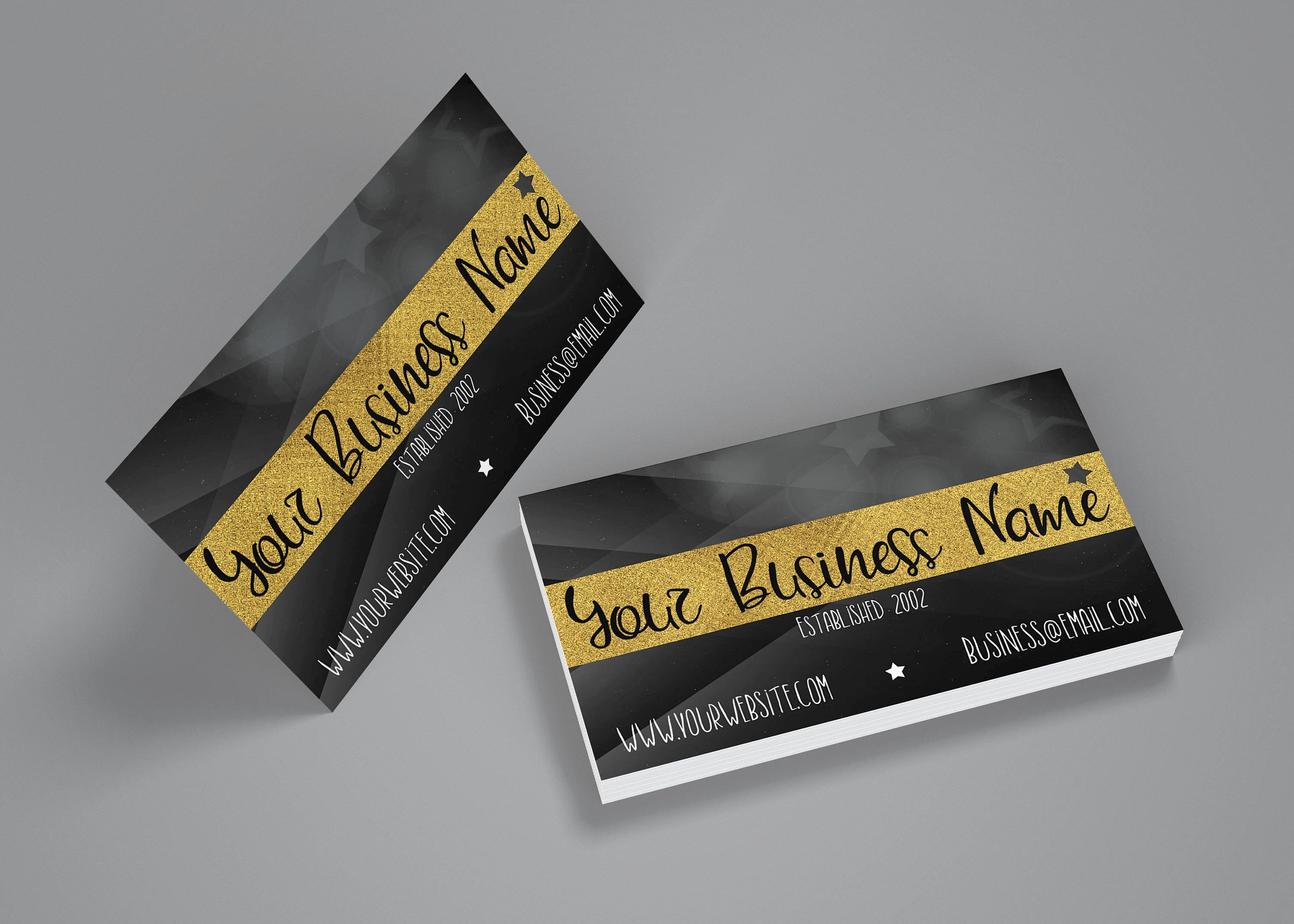 Star Business Cards