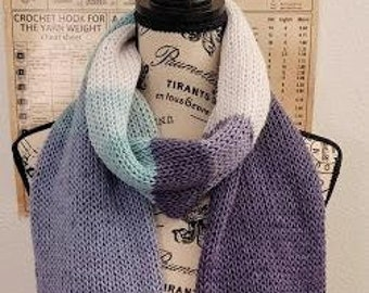 Long Scarf - Icelandic - Knitted