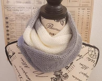 Infinity Scarf - Zen - Knitted