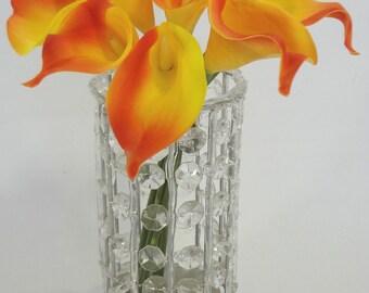 EVA Orange Calla Lily Bouquet X9  (Pack of 2)