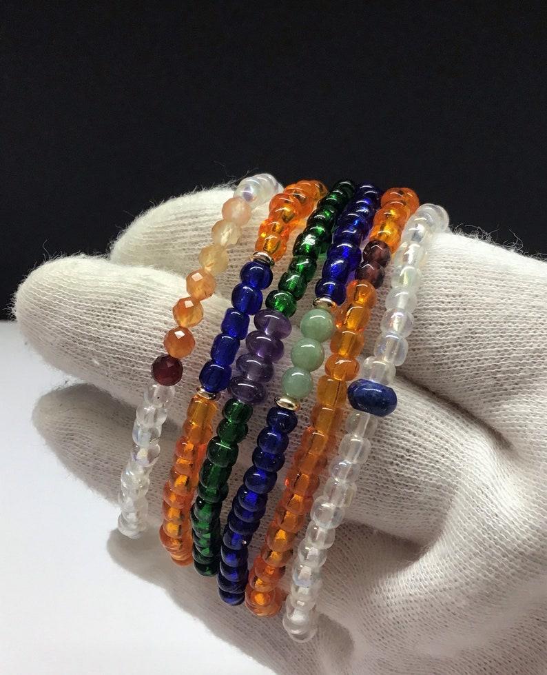 Customised Garnet Bracelet Customized Bead Bracelet Men Tiny Bead Bracelet Customised Bead Bracelet Garnet Men/'s Beaded Bracelets