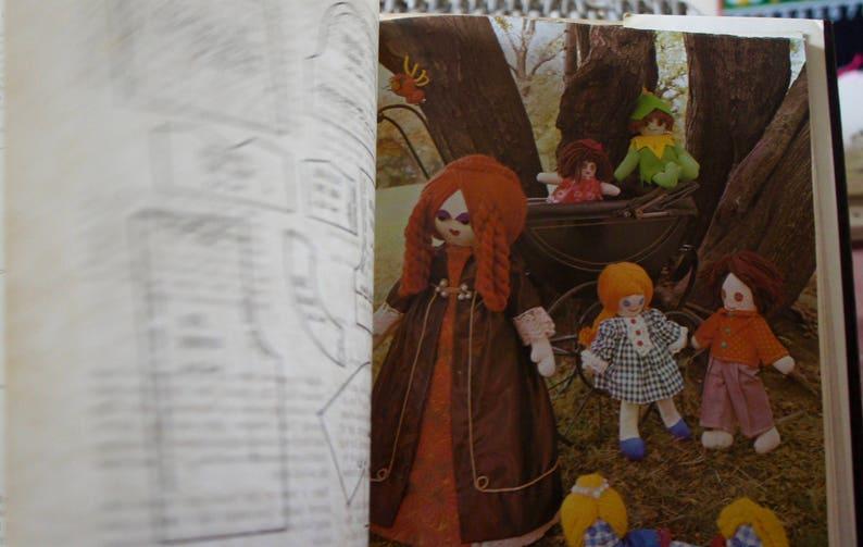 1974 Retro Craft Book Vintage Bears Animals Hard Back Bean Bags Dolls Pamela Peake/'s Nursery Toys Toys Creative Soft Toy Making