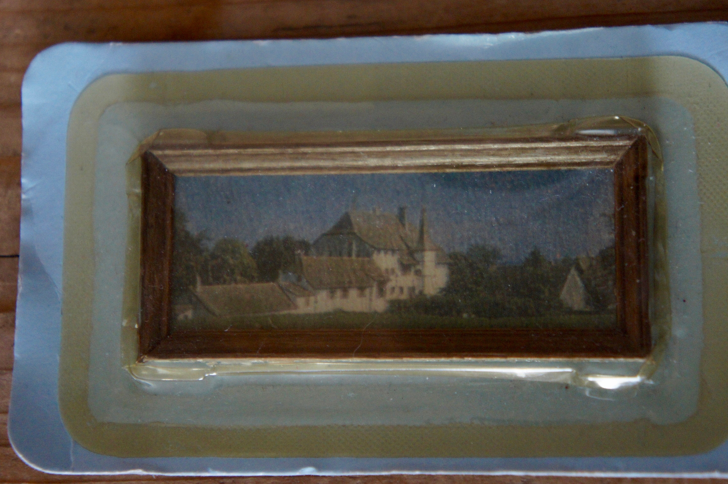 3 SISTERS Dollhouse FRAMED Miniature Picture Art MADE IN AMERICA FAST DELIVERY