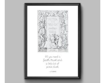 Print - Peter Pan - Pixie Dust