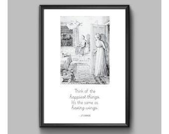 Print - Peter Pan - Happiest Things