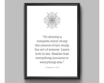 Digital Print - Leonardo Da Vinci - Complete Mind