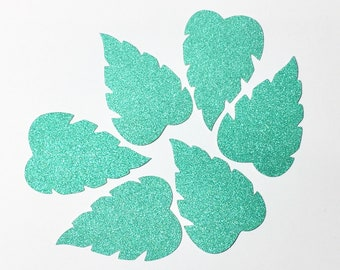 Palm Tree/ Banana Leaf Die Cut Outs Holiday Birthday Confetti  Scrapbooking Party Collection Stationery Decoration