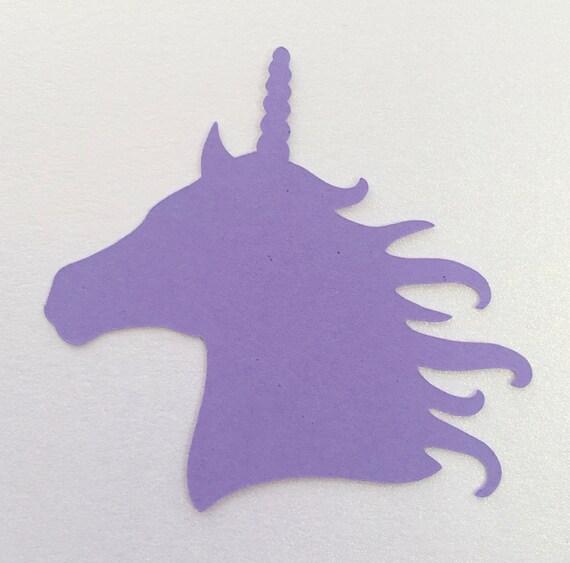 Unicorn Card Topper//die Cut//scrapbooking//party