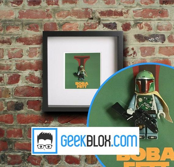 Star Wars Custom cardées Mini-figure figurine le retour du jedi chasseur de primes Boba Fett
