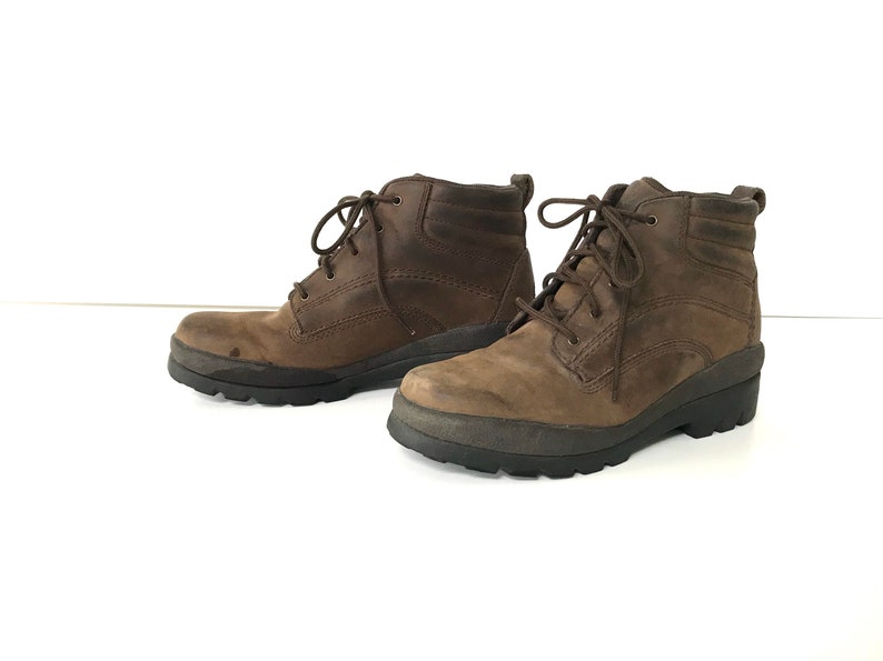 4187cd72d9ffe Size 8 Women's Brown Leather Rockport Hiking Boots, Women's Leather Ankle  Boots