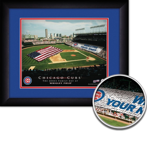 MLB-Philadelphia Philiies 15x18 MATTED and FRAMED Personalized Stadium Print