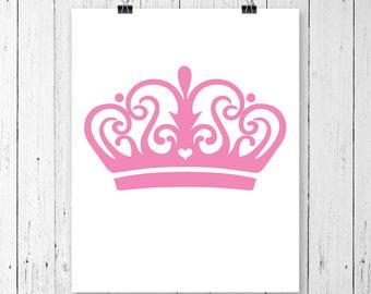 INSTANT DOWNLOAD! Tiara svg, Princess crown svg, Royal svg, Royalty svg, Queen crown svg, tiara, svg files cricut, svg designs, svg cricut