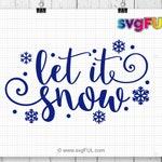 Snow Svg, Snowflake Svg, Snowflake, Winter Svg, Christmas SVG, Silhouette Cut Files, Cricut Cut Files