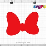 Red Bow Svg, Red Bow,  Bow Svg, Vector,  Bow, Cricut, Svg Cut File