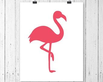 INSTANT DOWNLOAD! Svg, Flamingo Svg, Flamingo Silhouettet, Zoo Svg, Animal Svg, Beach Svg, SVG Files, Svg, eps, Silhouette Files, Cricut