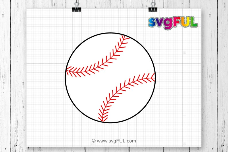 Baseball SVGBaseball Svg Cut files Baseball softball svg image 0
